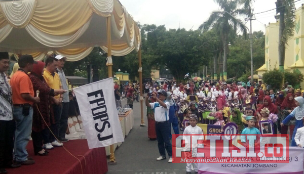 Sebanyak 65 TK di Jombang Pawai Budaya dan Drum Band PAUD
