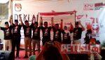 KPU Kota Mojokerto Gelar Deklarasi Damai