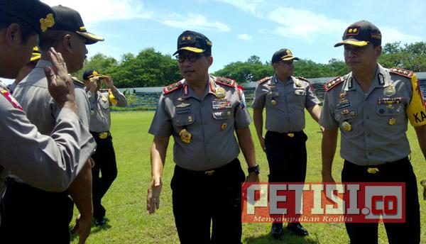 Kunjungi Mapolres Mojokerto, Kapolda Jatim Nyatakan Siap Amankan Pilkada