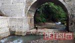 Baru Direhab, Pondasi Keropos, Jembatan Galih Ponorogo Terancam Ambrol