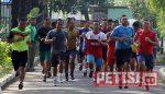 Bina Fisik, Anggota Korem 084/BJ  Senam dan Lari 3200 Meter