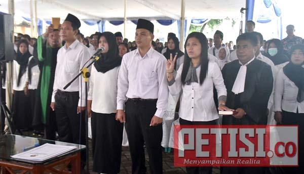 KPUD Jombang Lantik PPK dan PPS