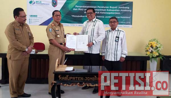 Pemkab Jombang MoU dengan BPJS Mojokerto