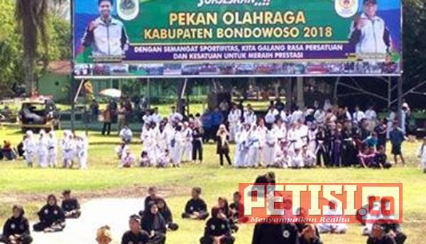 Bupati Buka Pekan Olah Raga Kabupaten Bondowoso 2018