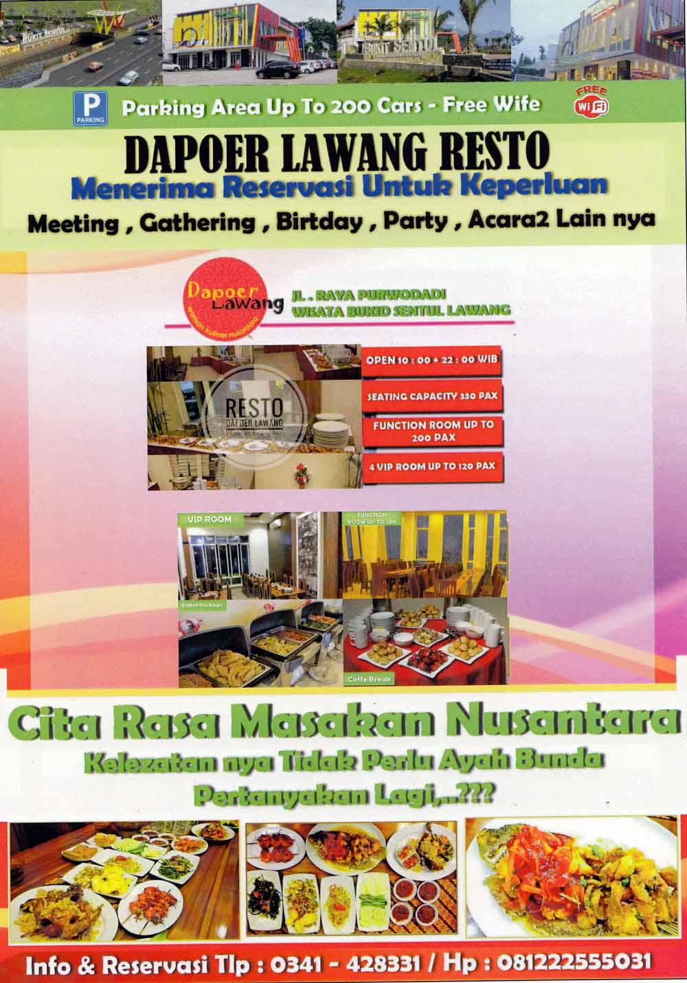 Dapoer Lawang Resto