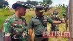 Sebanyak 350 Anggota TNI Latihan Menembak Jatri di Wedoroanom Driyorejo