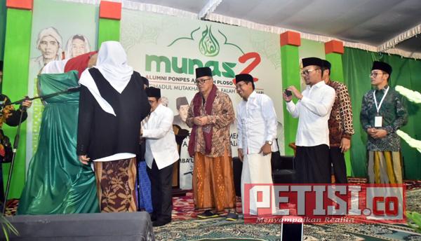 Menaker dan Muhaimin Hadiri Munas ke 2 Alumni Ponpes Al Falah Ploso