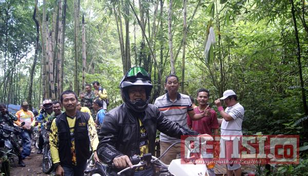 Kendarai  Trail, Pjs Bupati Setiajit  Tinjau Keindahan Air Terjun  Tretes Pengajaran