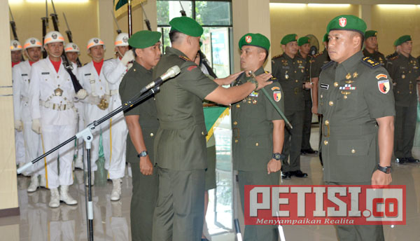 Letkol Inf Wildan Bahtiar Jabat  Komandan Kodim Tulungagung