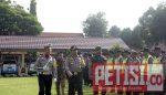 Polres Jombang Gelar Pasukan Operasi Patuh Semeru Tahun 2018