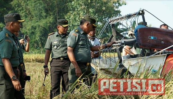 Tim Ster TNI AD Awasi dan Evaluasi Sergab Wilayah Kodim Gresik