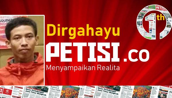 Ketua DPD PSI Kediri mengucapkan selamat HUT PETISI ke 1