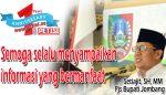 Pjs Bupati Jombang Setiajit Mengucapkan Selamat HUT PETISI ke 1