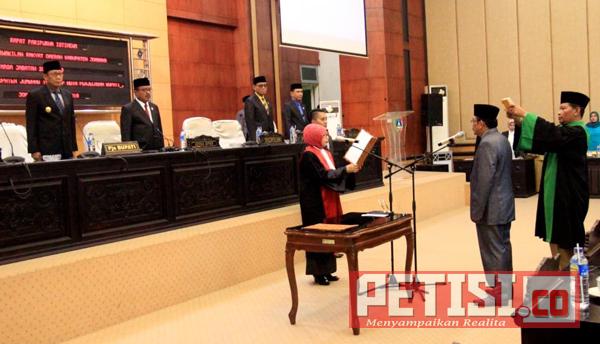 PAW DPRD Jombang Jelang Pelaksanaan Pilkada Serentak 2018