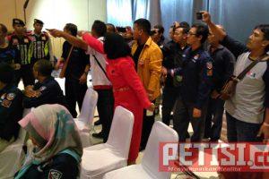 Debat Paslon Pilwali Kota Kediri Diwarnai Kericuhan