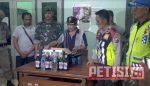 Razia Miras di Kota Kediri,  Tim Gabungan Temukan 2 Gadis Bawah Umur dan 9 Botol Miras