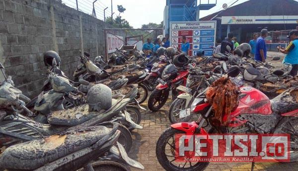 SPBE di Kediri Terbakar, Satu Karyawan Jadi Korban