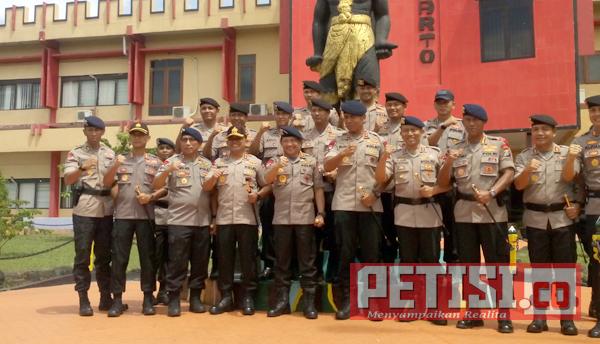 Tingkatkan Kualitas Anggota, Kapolri Tinjau Sarana Pusdik Brimob
