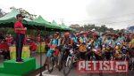 Perkenalkan Potensi Sijunjung, Bupati Lepas Peserta MTB Exloring Lansek Manih 2018