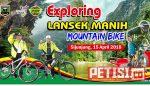800 Peserta Ramaikan MTB Exploring Lansek Manih Sijunjung