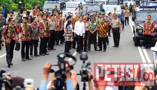 Jokowi Perintahkan Polri & TNI Usut Tuntas Pelaku Teroris