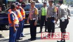 Kasat Lantas Polres Bondowoso Tertibkan Pelanggar Parkir di Jl Wahid Hasyim