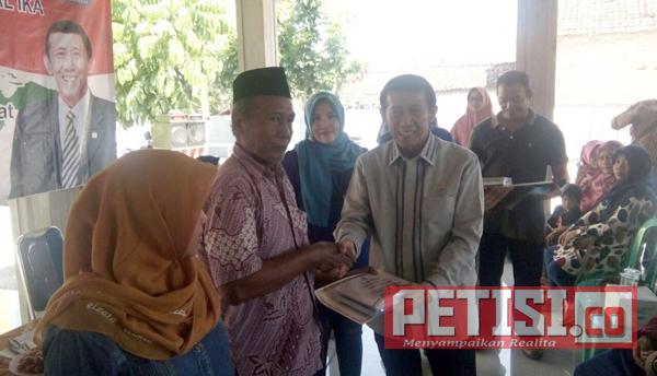 Guntur Sasono Anggota MPR RI Sosialisasi 4 Pilar di Desa Sumberteguh Kudu Jombang