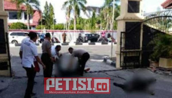 Mobil Teroris Serang Mapolda Riau, Satu Polisi Tewas, Dua Terluka