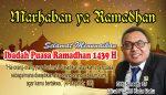 Dirut PDAM Kota Batu Marhaban ya Ramadhan 1349 H