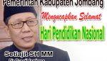 Hari Pendidikan Nasional oleh Pjs Bupati Jombang