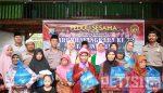Hari Bhayangkara ke 72, Kapolsek Grujugan  Bagikan 40 Paket Sembako