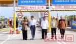 Gubernur Dampingi Presiden Resmikan Ruas Tol Gempol – Pasuruan