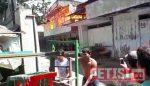 Tiga Gudang Kayu Jalan Semarang Terbakar