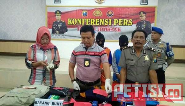 Berencana Bunuh Mertua, Dibekuk Polres Jombang