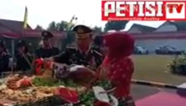 VIDEO : Tasyakuran HUT Bhayangkara ke 72 di Polres Mojokerto Kota