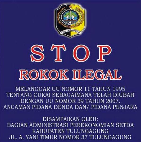 Bagian Administrasi Perekonomian Setda Kabupaten Tulungagung Stop Rokok Ilegal Petisi Co
