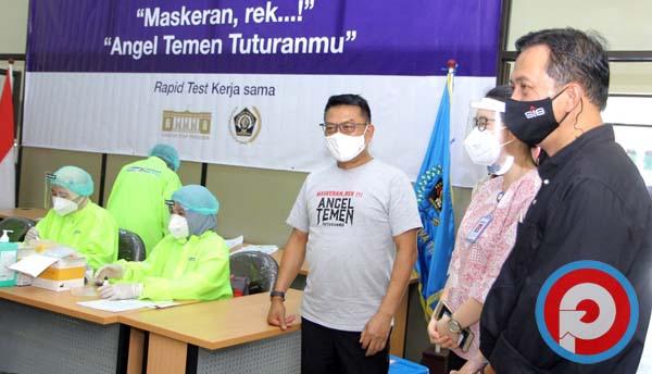 KSP Bareng PWI Jatim Gelar Rapid Test bagi Jurnalis ...